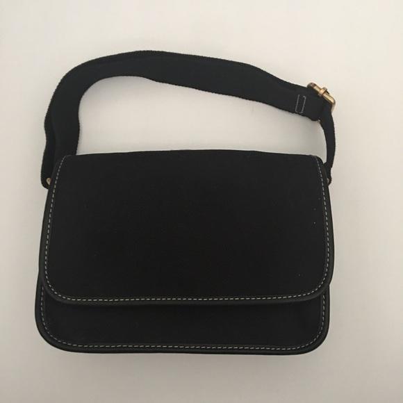 Lands' End Handbags - Land's End Black Shoulder Bag